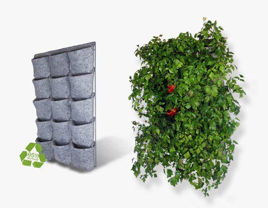 Huerto vertical o cuadro vegetal en madrid Mantenimiento